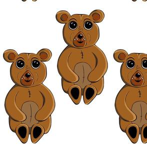 Big Eyed Bruno the Bear.