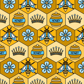 Bee Fabric- large