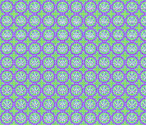 Rainbow Hemp -small fabric by shala on Spoonflower - custom fabric