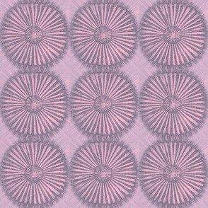 Ray-Dial, pink and grey