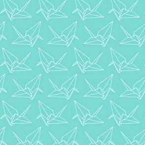 Origami Crane Outlines