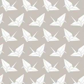 Folded Flock Dense: Warm Gray