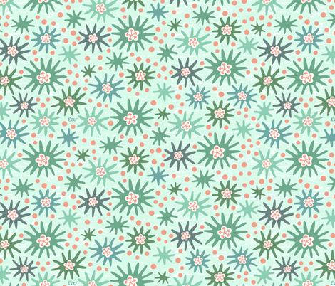 Sea Anemones fabric by studio_amelie on Spoonflower - custom fabric
