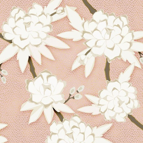Chinoiserie in Soft Pink