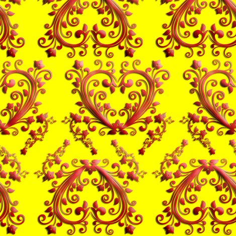 Rflorial_hearts_seamless_pattern_yellow_shop_preview