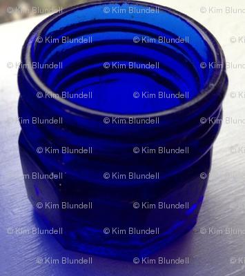 Blue jar 2 mirror