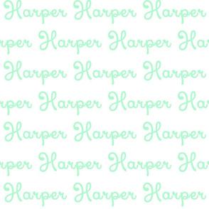 Harper Mint_Xiomara