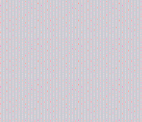 dots red/pink fabric by thelazygiraffe on Spoonflower - custom fabric