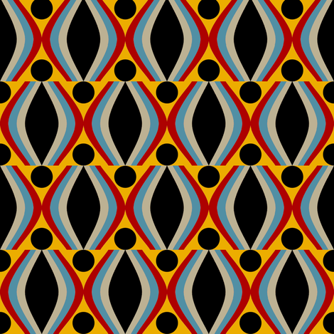 Cat's Eye fabric by david_kent_collections on Spoonflower - custom fabric