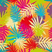 Bright Palm Leaves