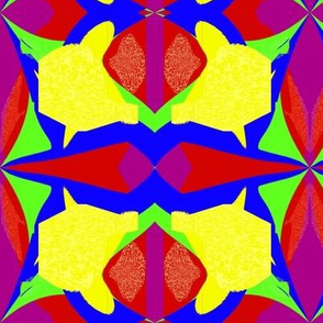 Abstract Primary Flower
