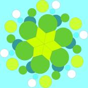 bubbles in aqua
