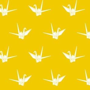 Origami Cranes: Sunshine