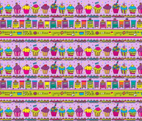 Laura Kelly Baking Dream fabric by happylaura on Spoonflower - custom fabric