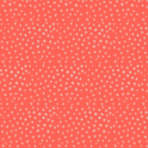 Watercolour Dots | Strawberry