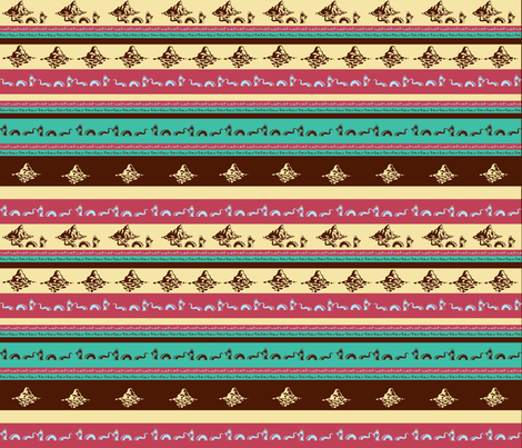 seamonster-1 fabric by scifiwritir on Spoonflower - custom fabric