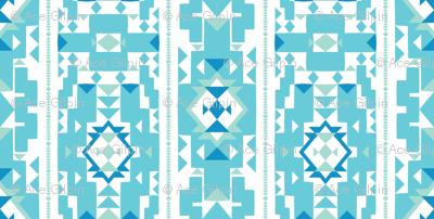 Cool_New_Mexico_Adobe_Stripe__Turquoise___Sea foam