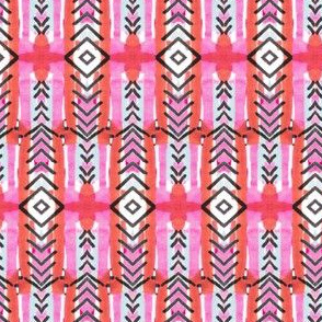 Tribal Sunset Chevron