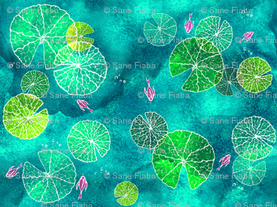 The Water Lily Islands