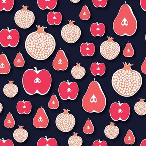 Pears, Pomegranates, and Apples... Oh My