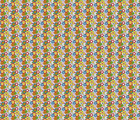 Flower Power fabric by lord_extra on Spoonflower - custom fabric