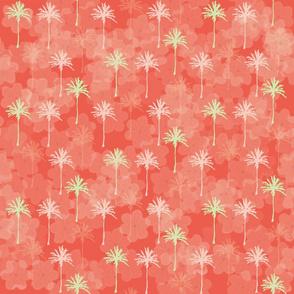 Christmas Color Palm Tree & Leis