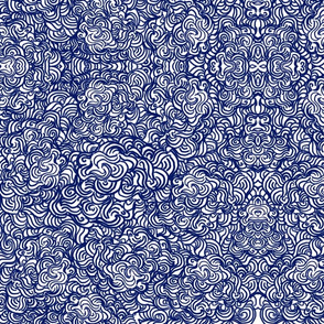 swirly  textile