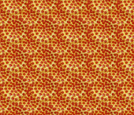 Pepperoni Pizza fabric by lavender- on Spoonflower - custom fabric