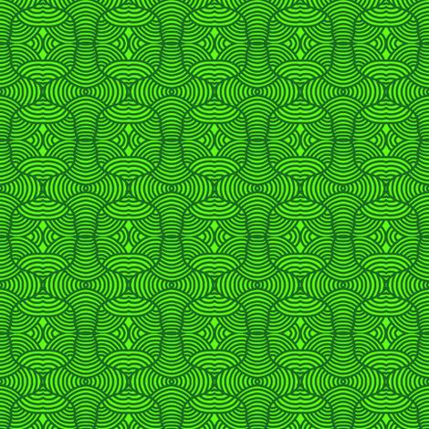 Topiary Maze Green fabric by eve_catt_art on Spoonflower - custom fabric