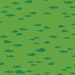 Islanders - Green Fish