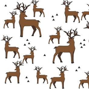Reindeer white