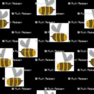bees at work random