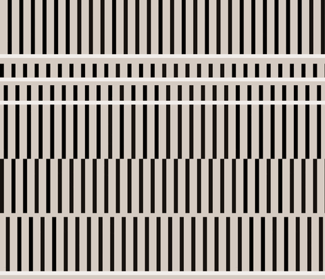 line dash stripe gray LARGESCALE fabric by cristinapires on Spoonflower - custom fabric