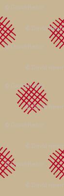 Red Crosshatch (Adobe)