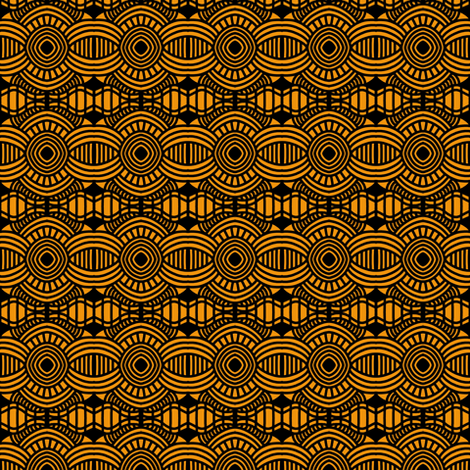 Roulette Table 1 fabric by eve_catt_art on Spoonflower - custom fabric