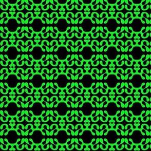 Paper Cutouts Green Black 2