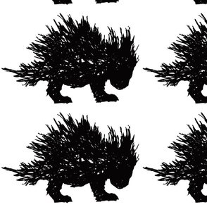 PorcupineToo Black