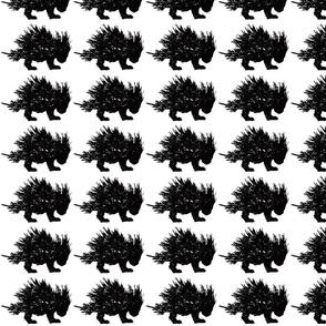 Porcupine Black