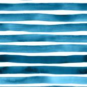 Ultramarine Ink Stripes by Friztin