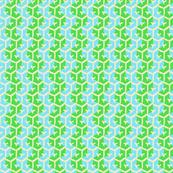 Tracks - Bright Apple Green & Aqua
