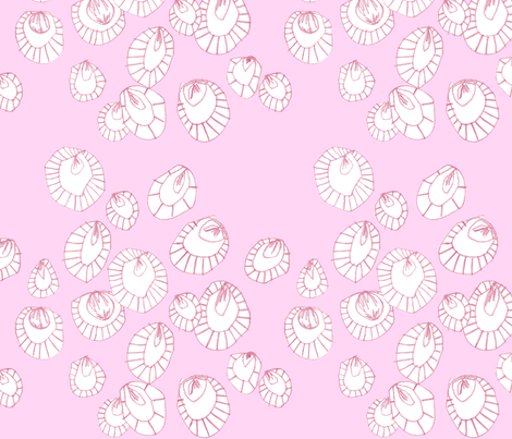 Party Pink on Pink fabric by katebutler on Spoonflower - custom fabric