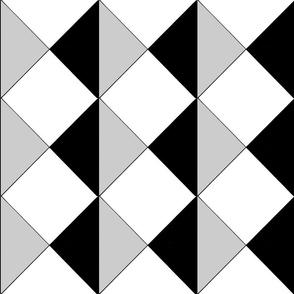 Diamond Tile Grey