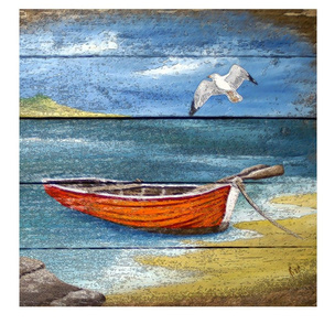 BOATS_PAINTED_ON_WOOD_CUSHION_COVERS_40cm_x_40cm