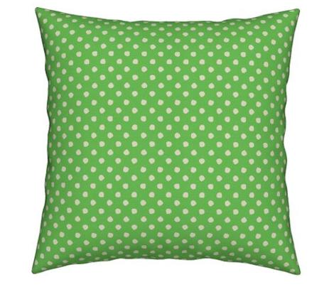 Odd Dots - Bright Apple Green & Cream