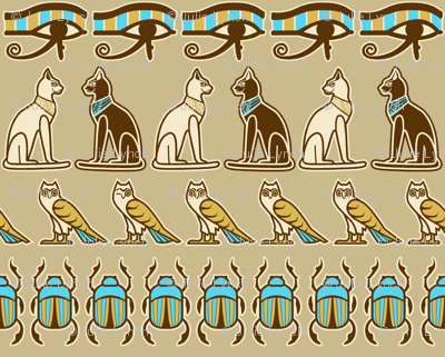 Egyptian odd one out reduced
