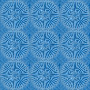 Ray-Dial, white on blu