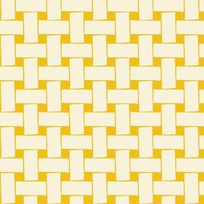 Fine & Dandelion Weave in Yellow