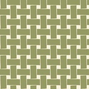 Fine & Dandelion Weave in Green