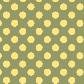 Fine & Dandelion Polka Dot in Green