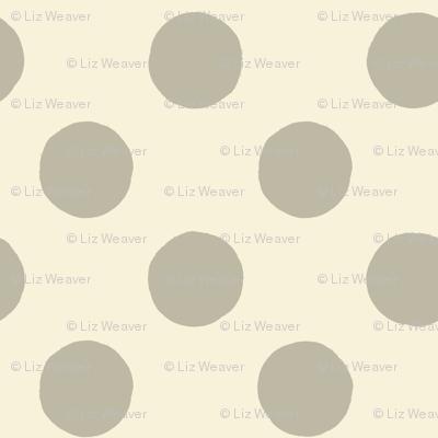 Fine & Dandelion Polka Dot in Cream